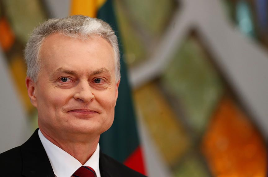Lithuania shuns populism with the election of a pro-EU president