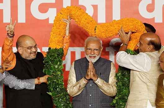 Narendra Modi wins big. What's next for India?