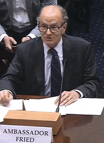 """Ambassador Fried Testifies Before House Committee on Foreign Affairs on """"Countering a Resurgent Russia"""""""