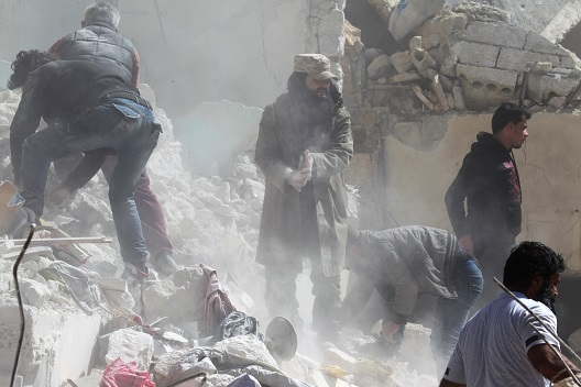 Responding to Assad's violence against Syrian civilians