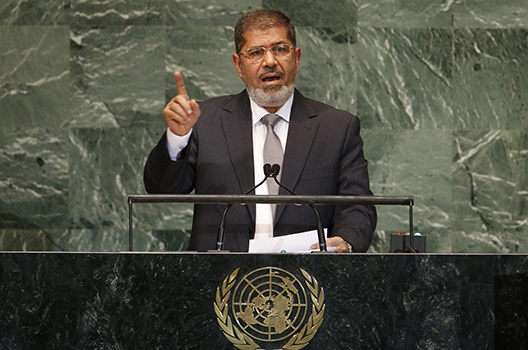 Mohammed Morsi, Egypt's first democratically elected president, dies