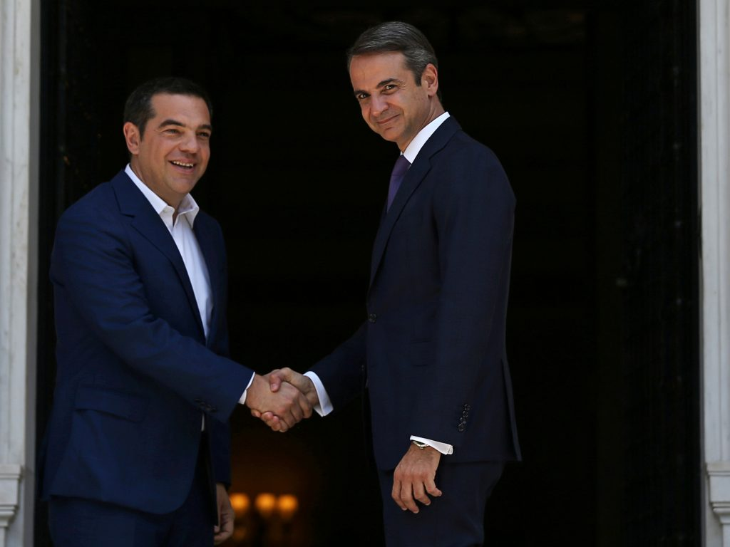 Greece embraces the center and continues course out of crisis