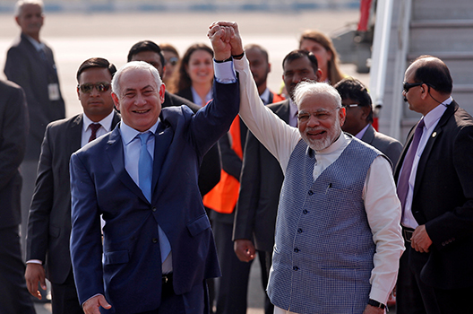 A passage to India: Israel's pivot East