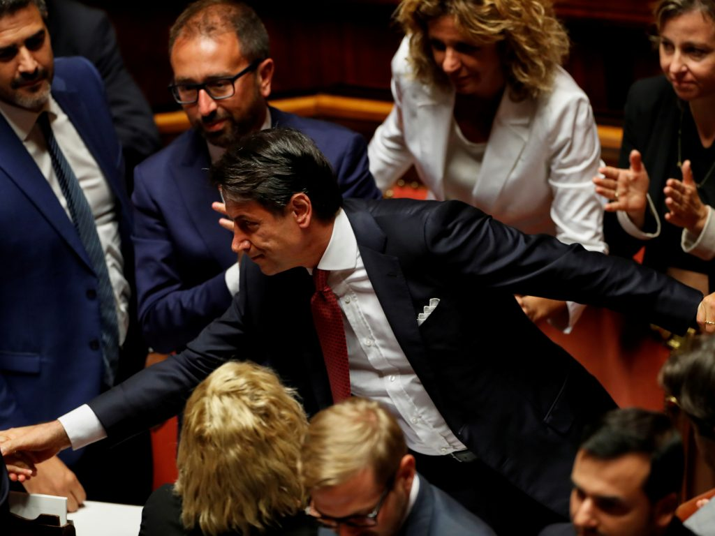 Will Italy get a new government or elections?