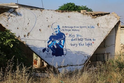 Roger Waters Banksy article