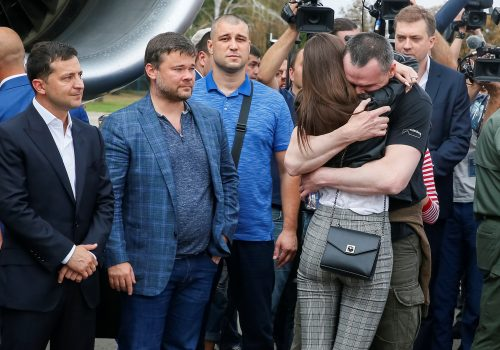 What price did Ukraine pay for prisoner exchange?