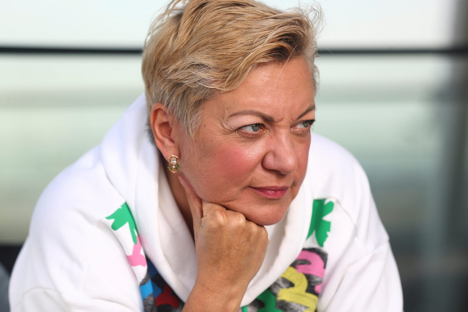 "Gontareva: ""Too many have sacrificed and died to let oligarchs run the country again."""