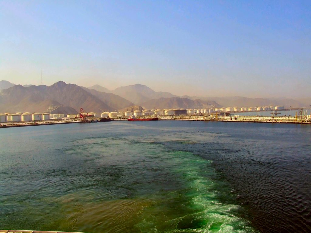 Fujairah and the encirclement of Saudi oil production by Iran