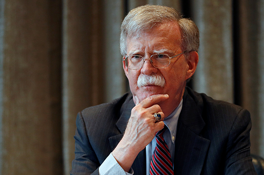 John Bolton out as national security advisor