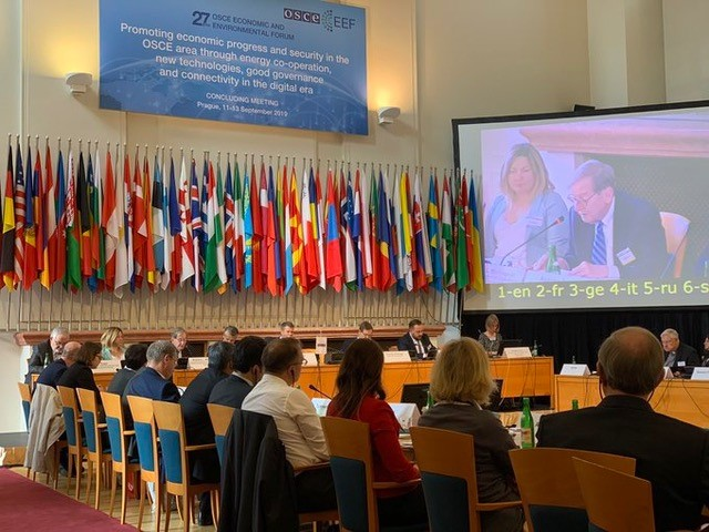 Amb. Richard L. Morningstar's address to the 27th OSCE Economic and Environmental Forum