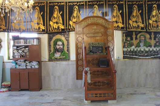 Why an Iran-backed paramilitary group has rebuilt a shrine in a ruined Iraqi city