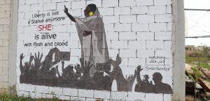 In solidarity with Sudan: Syria's graffiti movement