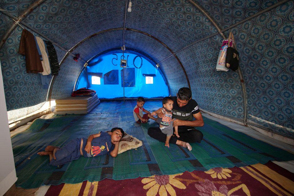 Iraqi IDPs amid US-Iranian tensions