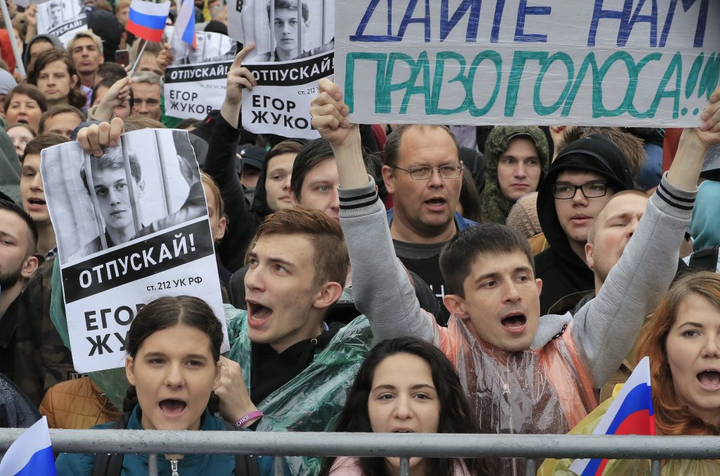 Prospects of the Russian protest movement