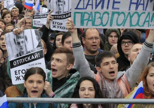 Report launch: Prospects of the Russian protest movement