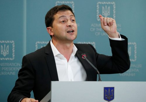 The seasoning of President Zelenskyy