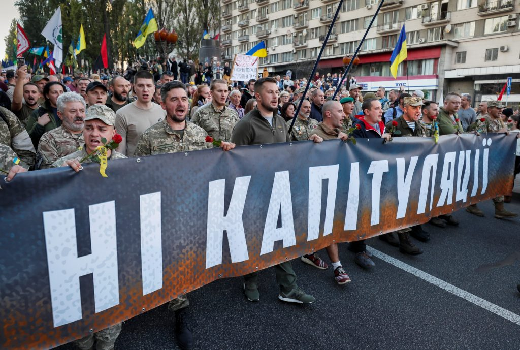 What are Ukrainians willing to compromise for peace?