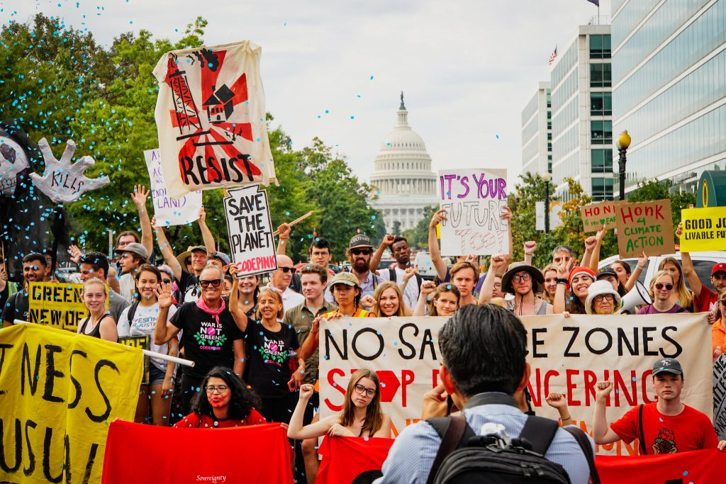 Youth climate activists aren't just striking, they're taking policy action