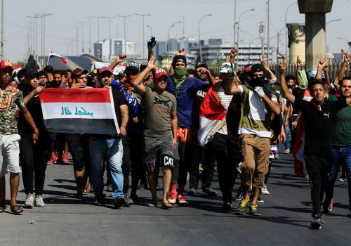 Iraqi protestors unite behind demands, not sectarian identities