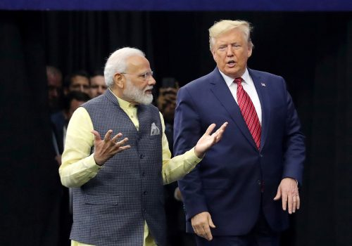 "US-India relationship is ""moving from the era of ambitions to the era of achievements"""