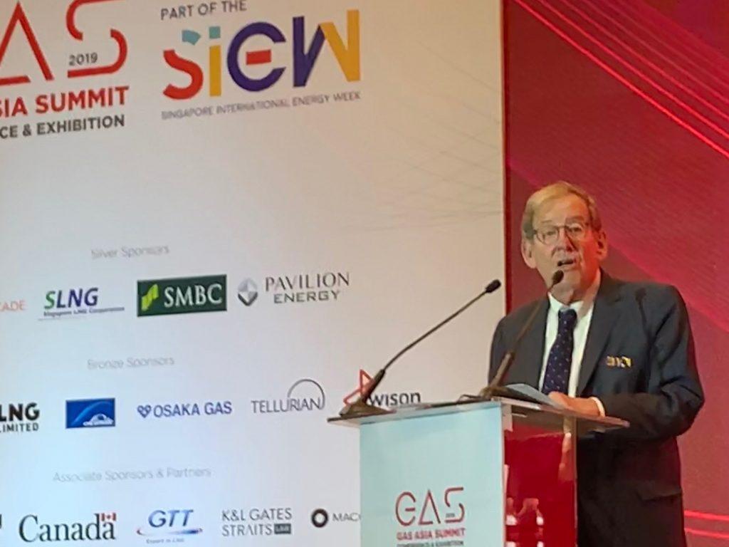 Amb. Richard L. Morningstar's address to the 2019 Gas Asia Summit