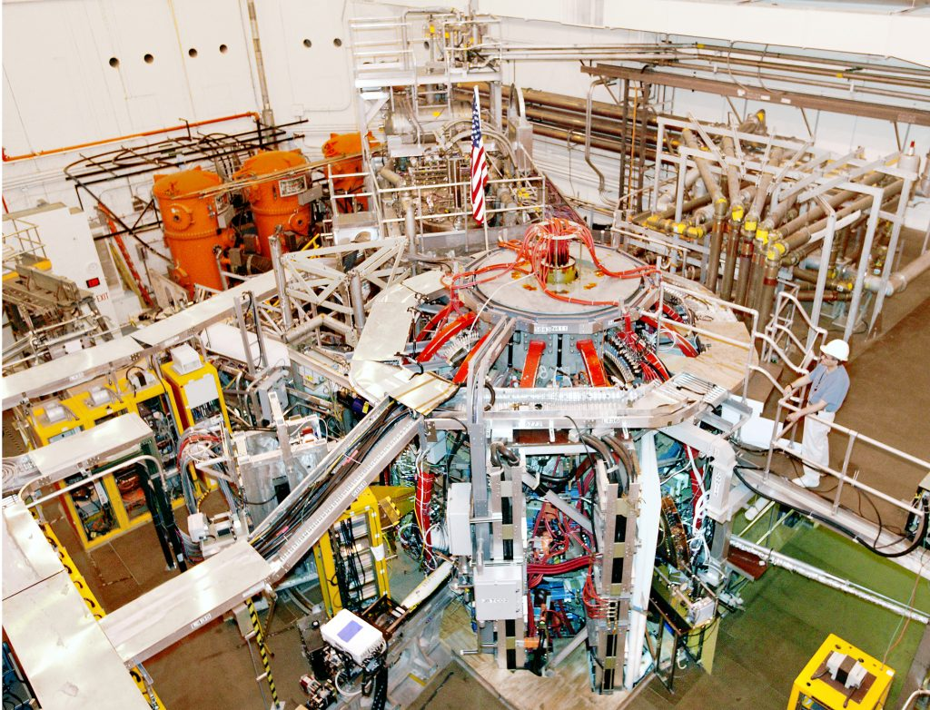 Nuclear research in a US lab