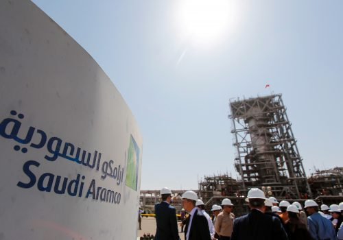 Saudi Aramco oil facility
