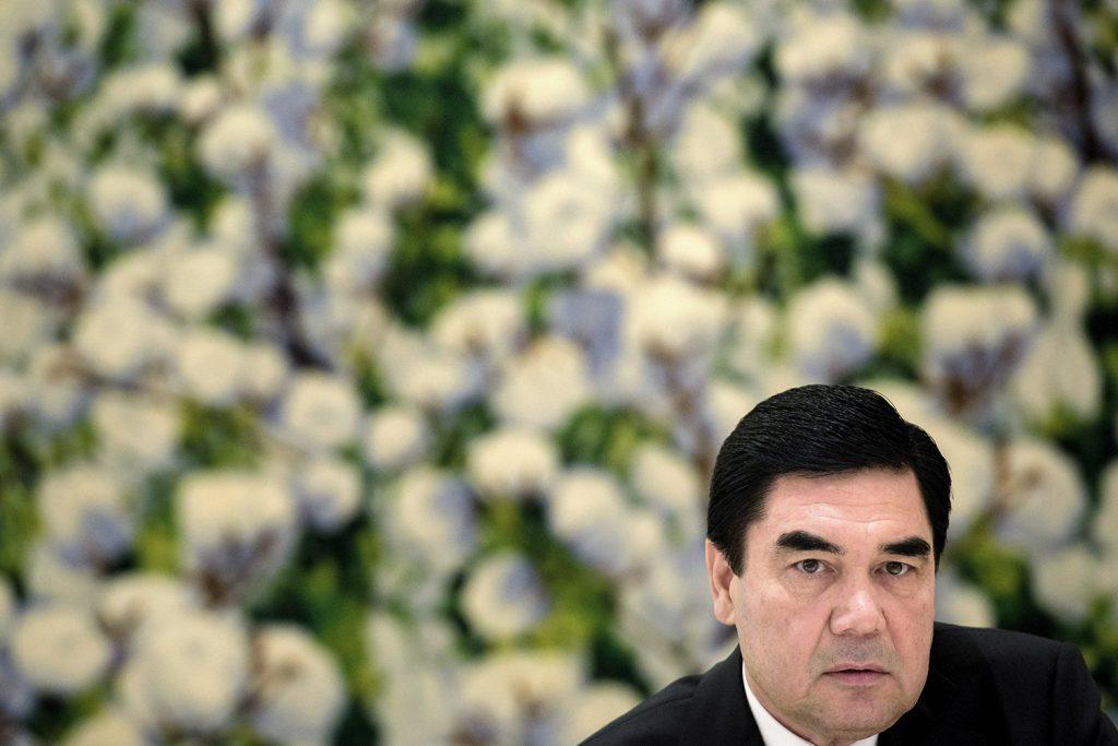 Passing the baton in Turkmenistan