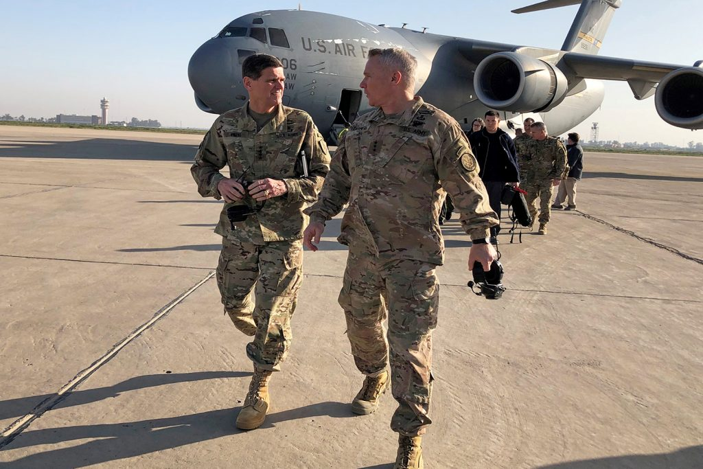 The United States needs Middle East partnerships, former US commander argues