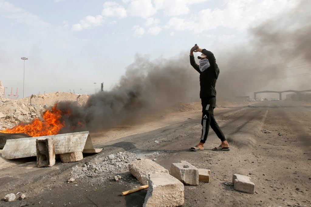 Protests continue at Umm Qasr