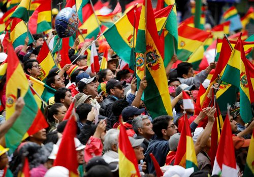 A tale of two flags: How Bolivia's racial divide is shaping its political crisis