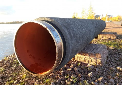 Nord Stream pipe
