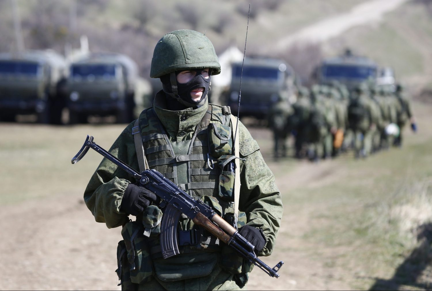 Is Putin about to launch a new offensive in Ukraine?