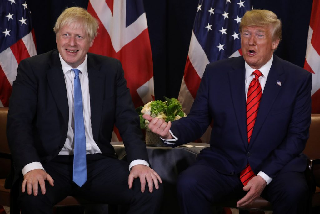 Expect an early Johnson visit to Washington
