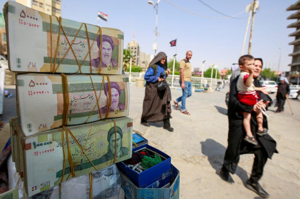 Protests challenge Iran's future position in Iraq