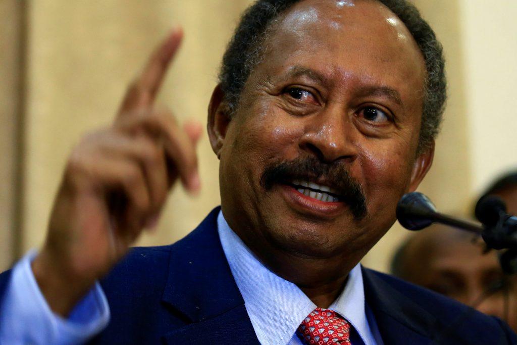 Sudan's prime minister comes to Washington