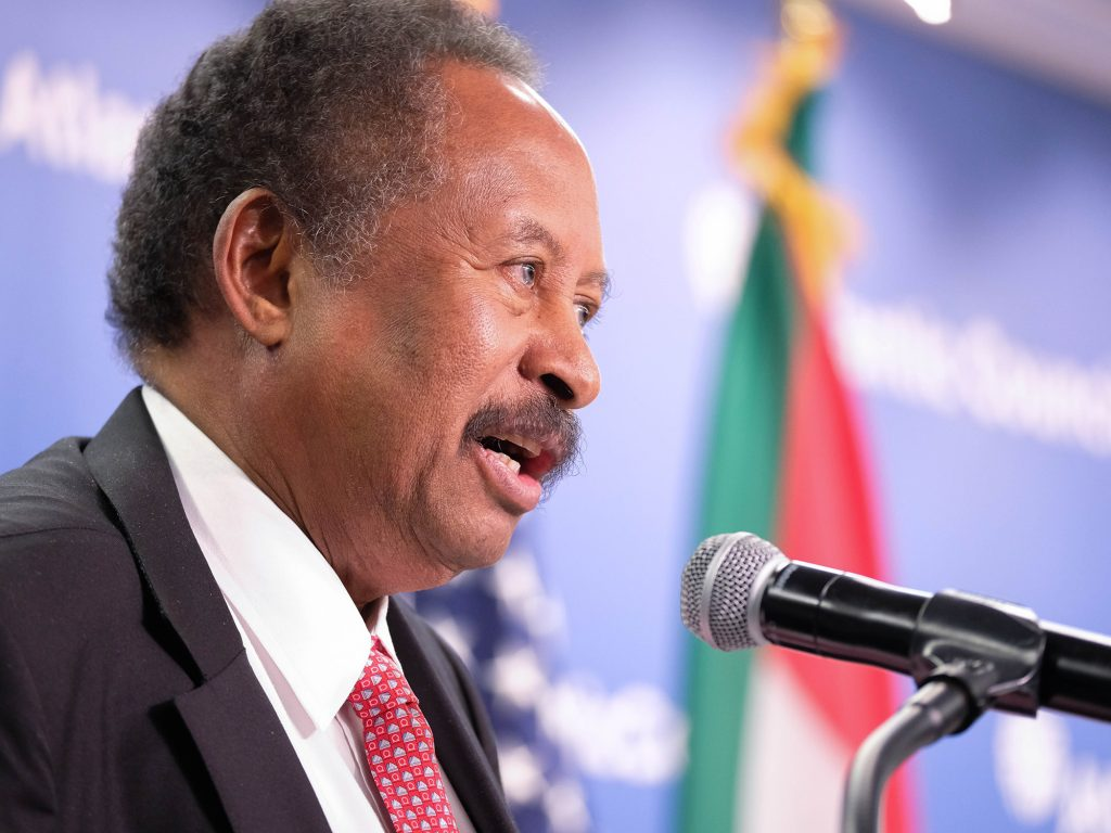 "Prime minister promises ""Sudan will never be the same again"""