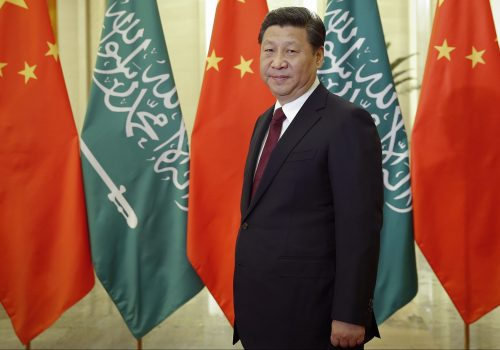 Iran isn't the only Middle Eastern country in a unique partnership with China