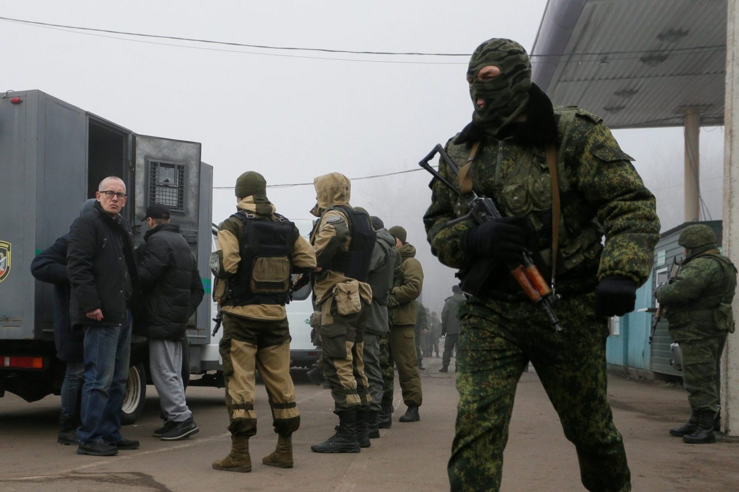 Prisoner exchange lifts the veil on Russia's hybrid war against Ukraine