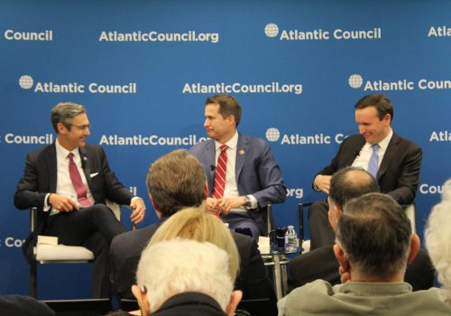 The Atlantic Council in January