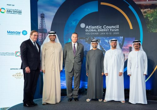 The Atlantic Council presents the Global Energy Forum