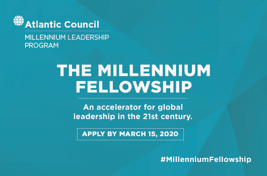 Millennium Leadership Program announces call for 2020 Millennium Fellowship applications