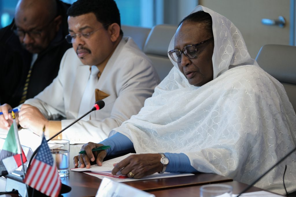 Sudanese Foreign Minister outlines priorities of transitional government