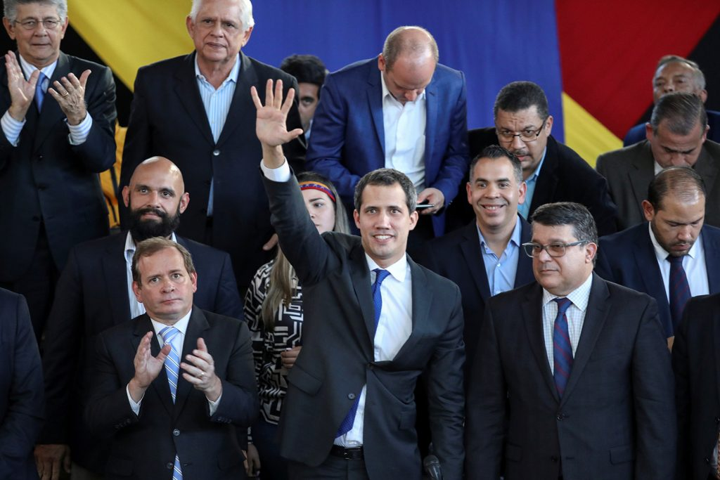 A year in, the United States still stands behind Venezuela's interim government