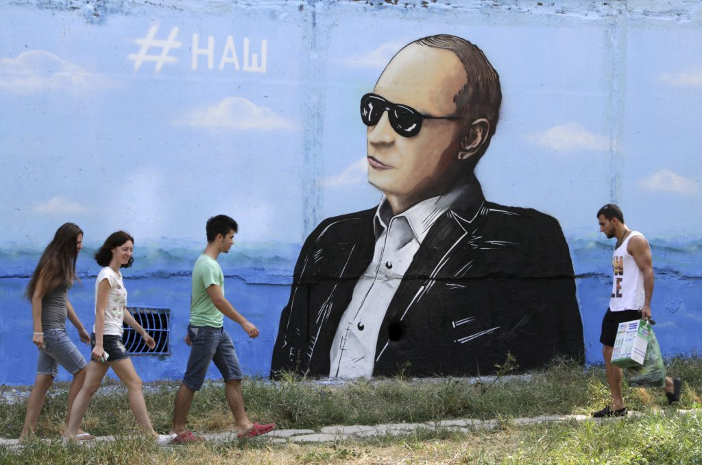 World must not forget Putin's Crimean crime