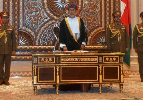 The sultan of Oman's new cabinet combines continuity and change