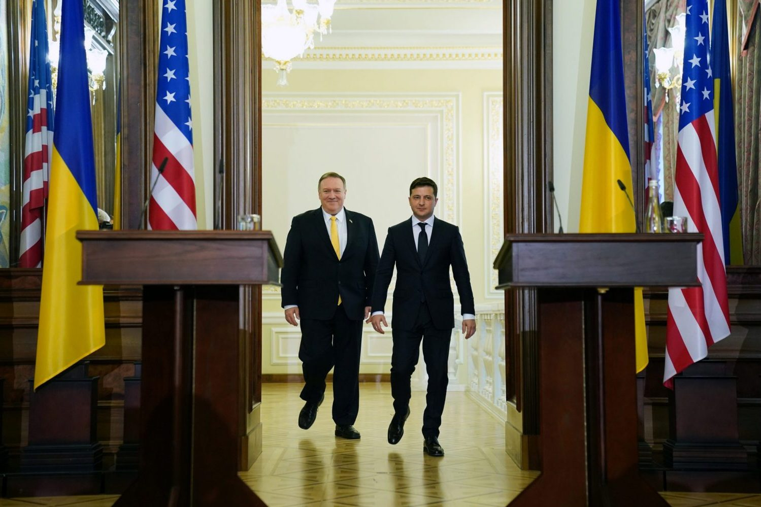 Impeachment drama gives Ukraine a US brand boost