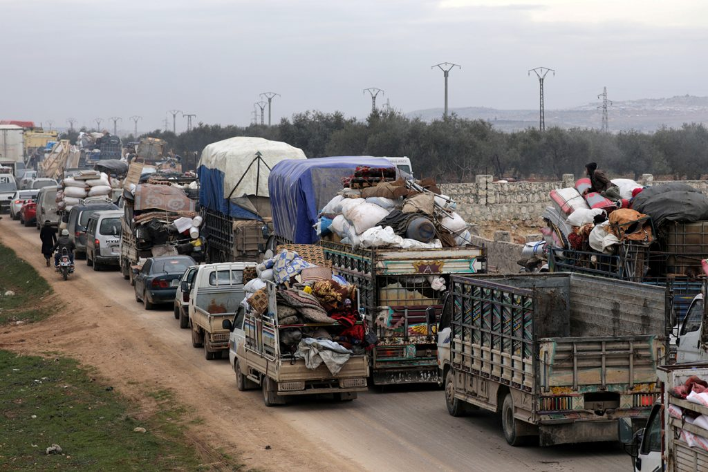 Tensions mount in Syria after strike on Turkish troops
