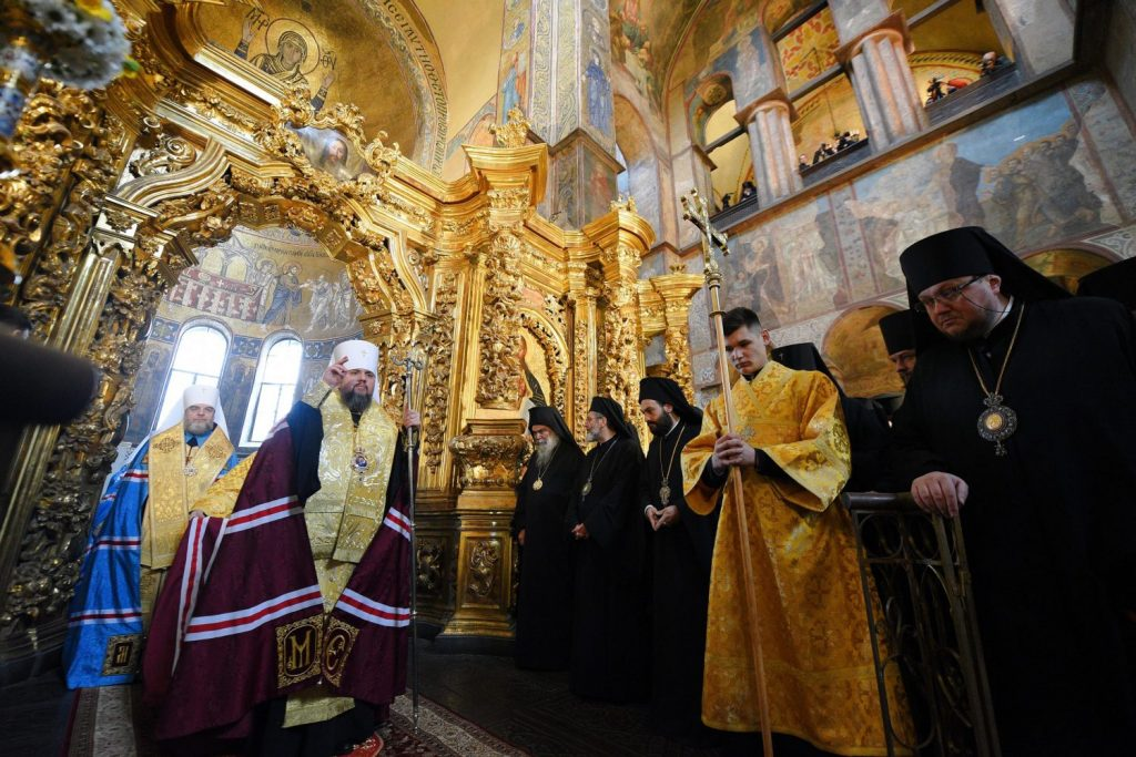 Nation-building Ukraine marks a year of Orthodox independence
