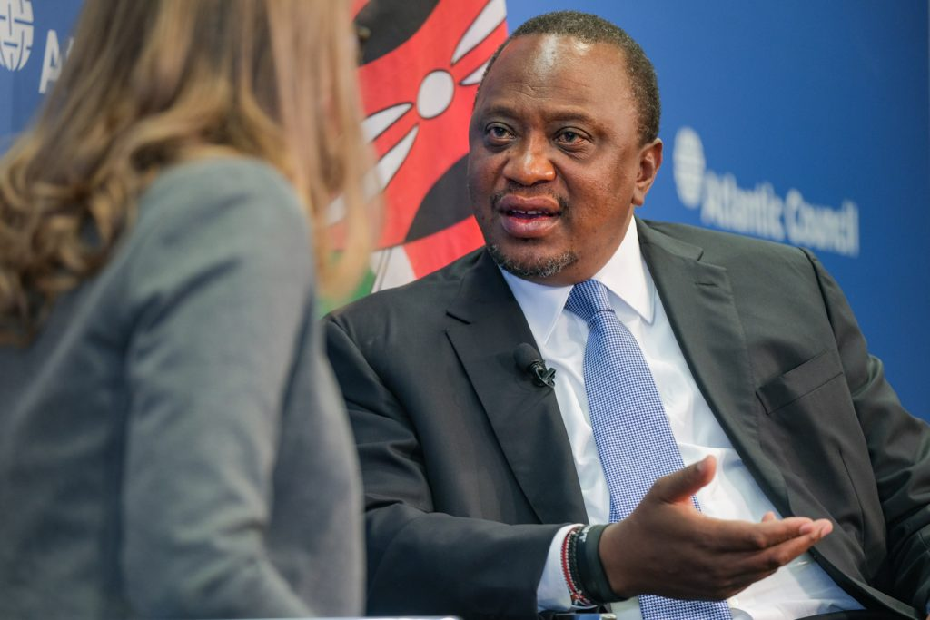 Kenyan President Uhuru Kenyatta says his country needs 'fiscal space' amid the COVID-19 crisis